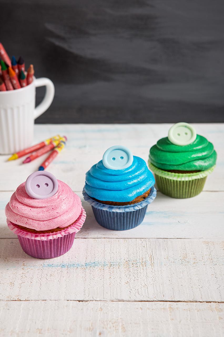 Β40.cup-cake-με-κουμπί-ροζ2c-σιελ-πρασινο